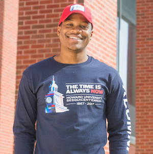 The time is always now, Howard Sesquicentennial  Long Sleeve Alumni T-shirt