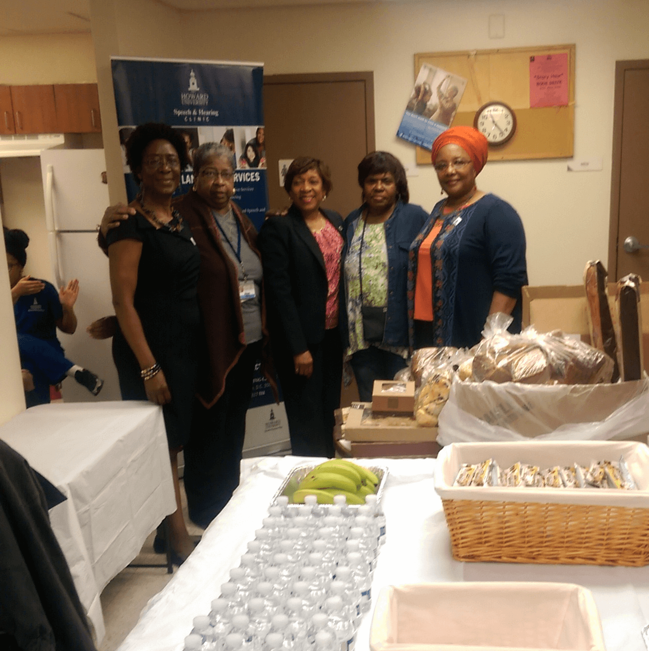 Coordinators of the LeDroit Park Senior Complex Health Fair