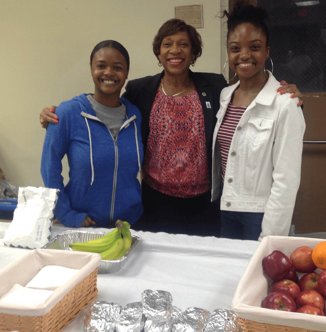 Student Employees with Dr. Valarie Turner